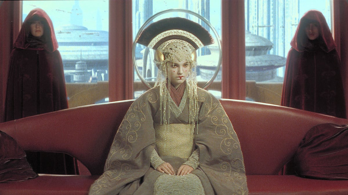 Padmé Amidala in royal attire