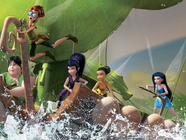 No matter the weather, Tink's friends are determined to find her.