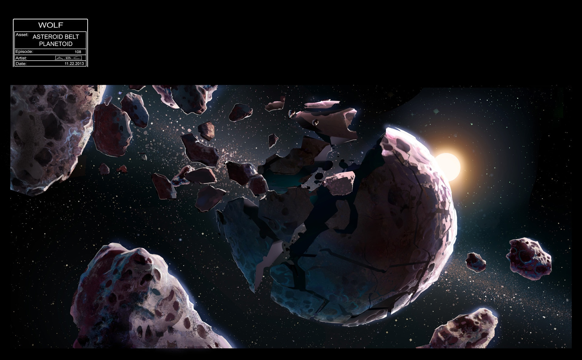 is asteroid belt a former planet - HD1920×1189