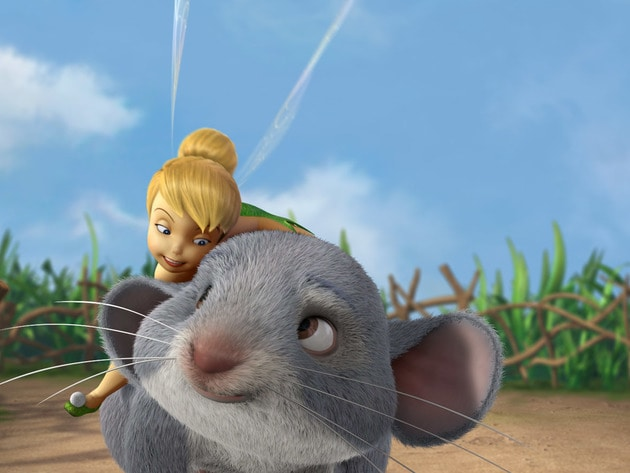 This mouse, named after his favorite food, is Tink's loyal companion.