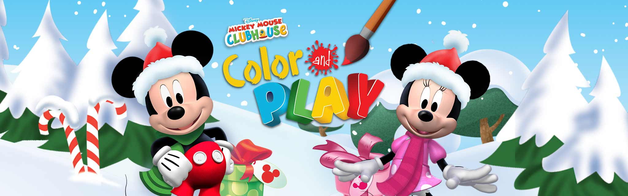 mickey mouse clubhouse color and play disney lol - Mickey Mouse Colouring Games