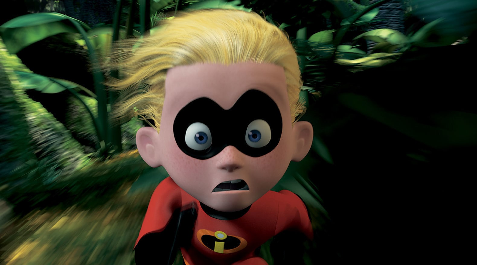 """Dash running very fast in """"The Incredibles"""""""