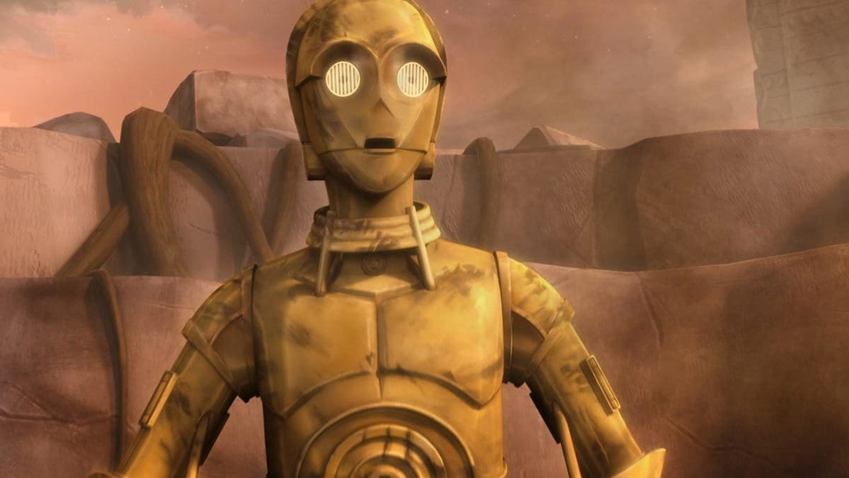 "C-3PO in ""The Clone Wars"""