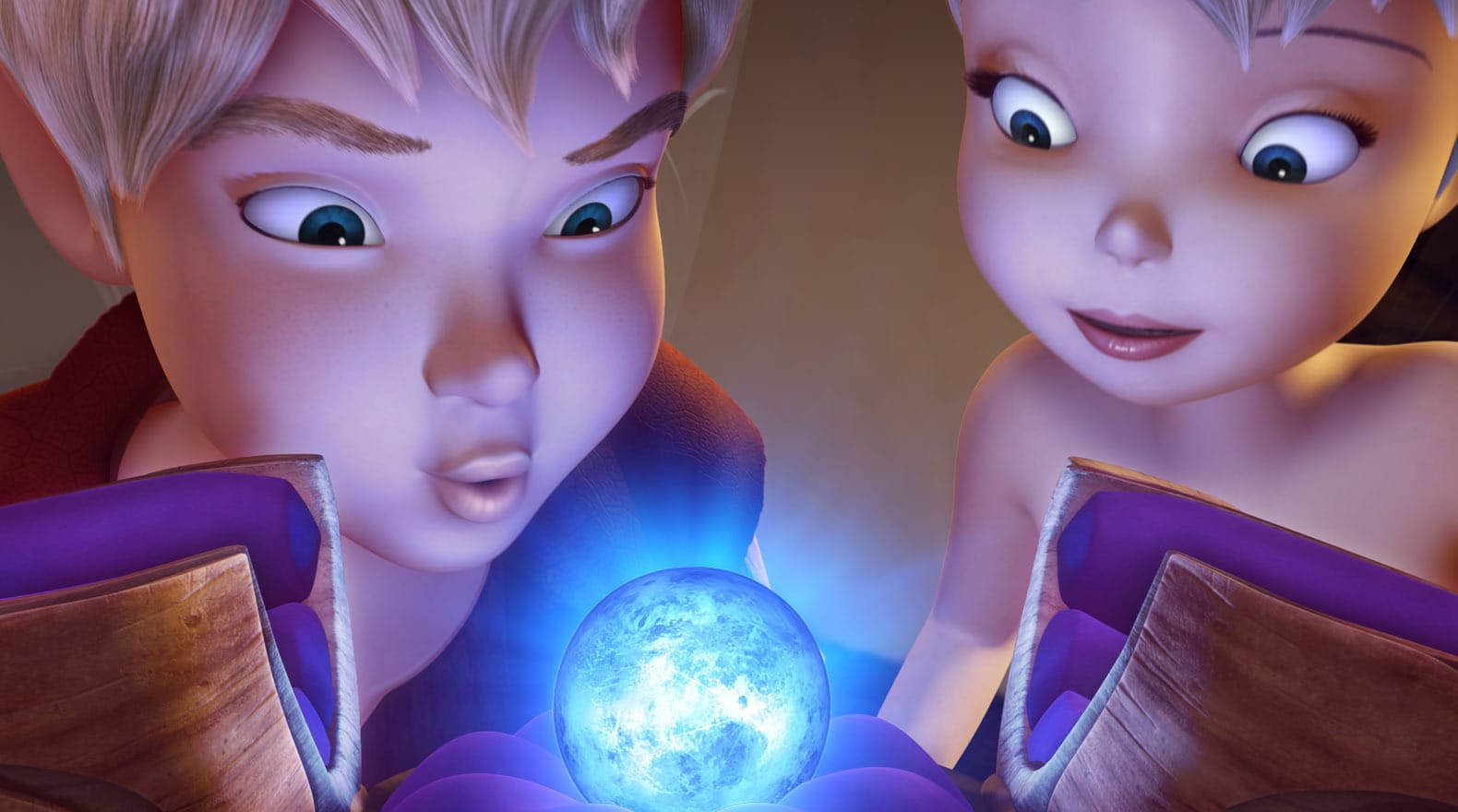 Tink and Terence work together to build a scepter for the moonstone.