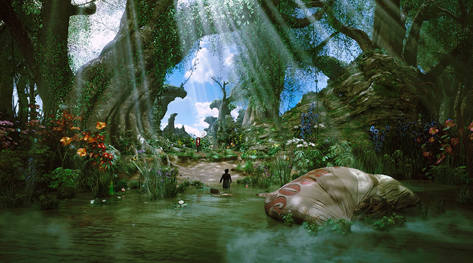 """Whimsie Woods in """"Oz the Great and Powerful"""""""