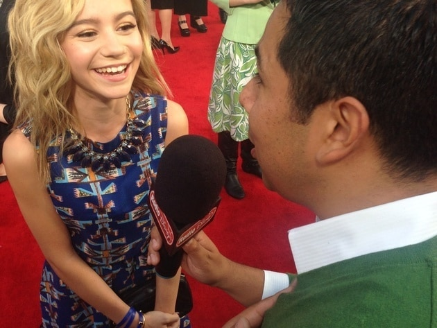 G Hannelius at Muppets Most Wanted
