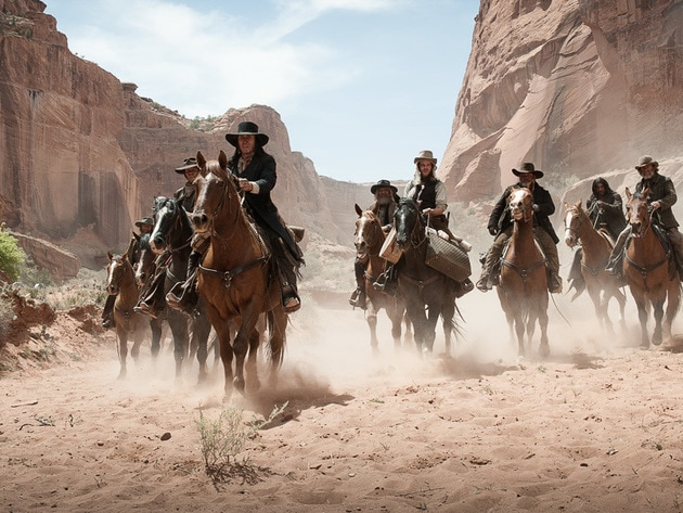 """""""Eight men rode into canyon...I dug seven graves."""""""