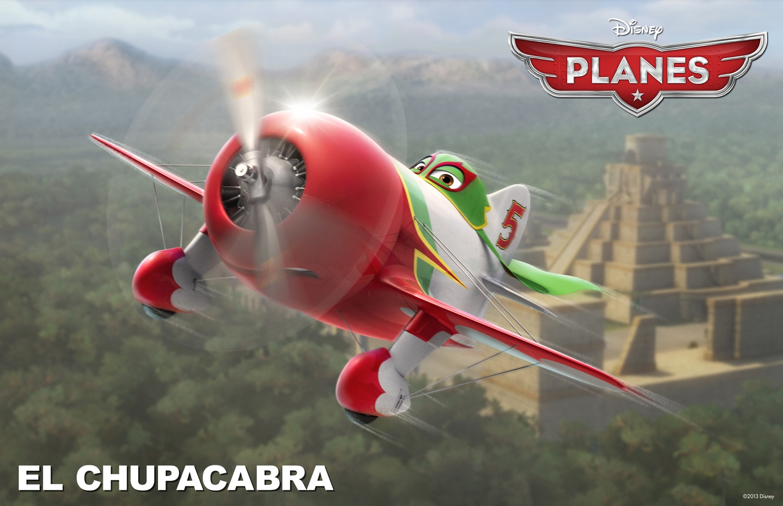 """The intensely charming El Chupacabra is a legend in Mexico, from the movie """"Planes"""""""