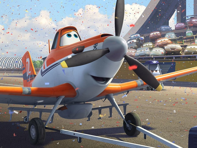 From crop duster to racer, Dusty is in the big leagues now!