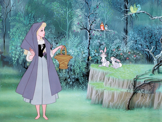 Briar Rose is always finding new places to explore.