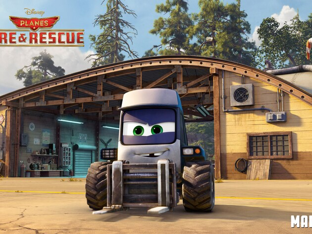 Maru (voice of Curtis Armstrong) is the mechanic tug at the Piston Peak Air Attack base. Friendly...