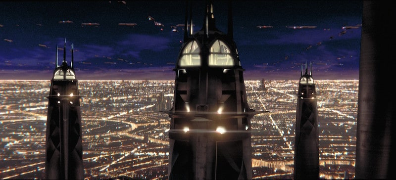 The High Council Tower of the Jedi Temple