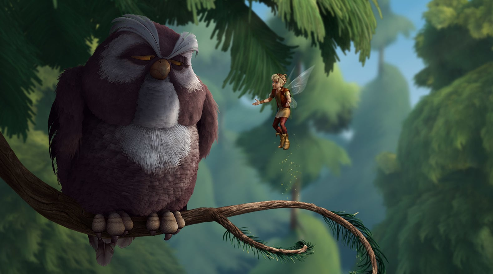 Mr. Owl gives Terence some pretty good advice.