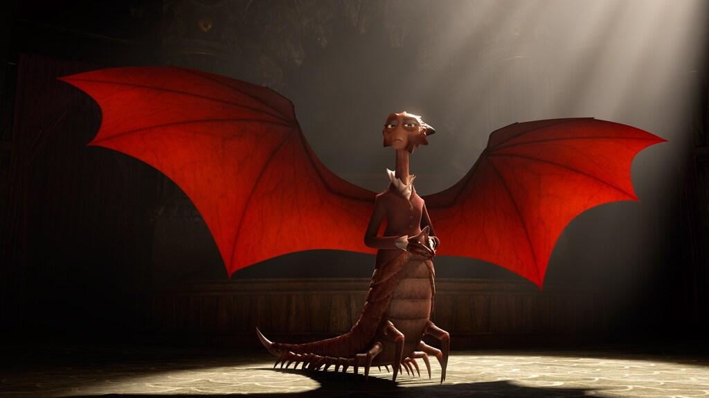 "Dean Hardscrabble from the movie ""Monsters University"""