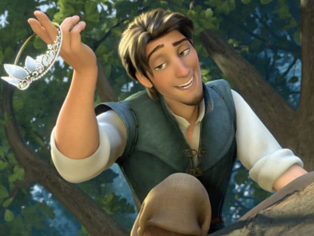 Flynn Rider is the adventurous bandit in Tangled, who, after a requisite number of exploits and e...