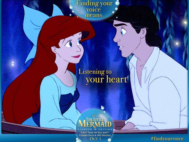 Listening to your heart.