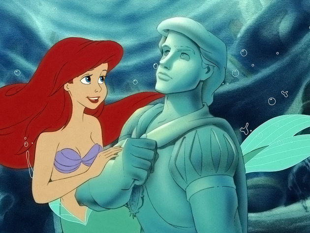 Ariel may have many thingamabobs, but this statue is the prized possession of her collection.