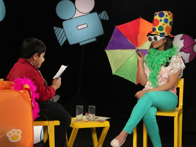 Parineeti and Captain Tiao busy with the quiz