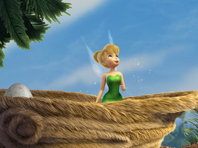 Tink tries teaching baby birds how to fly while learning Animal Fairy skills.