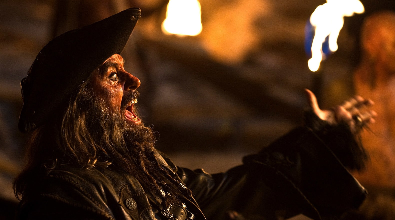"""Meet Captain Edward Teach, better known as 'Blackbeard'!"""