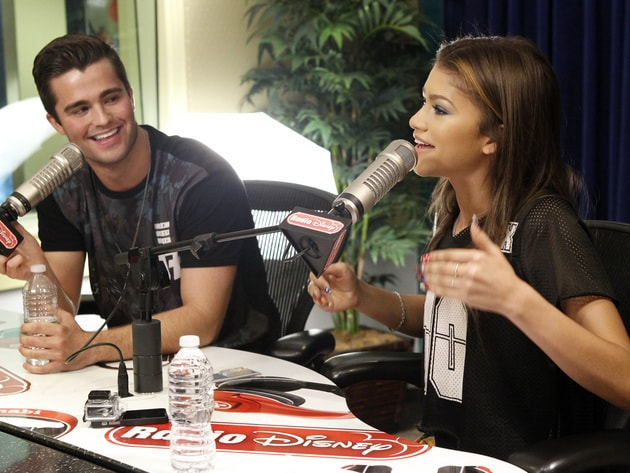 Zendaya and Spencer Boldman