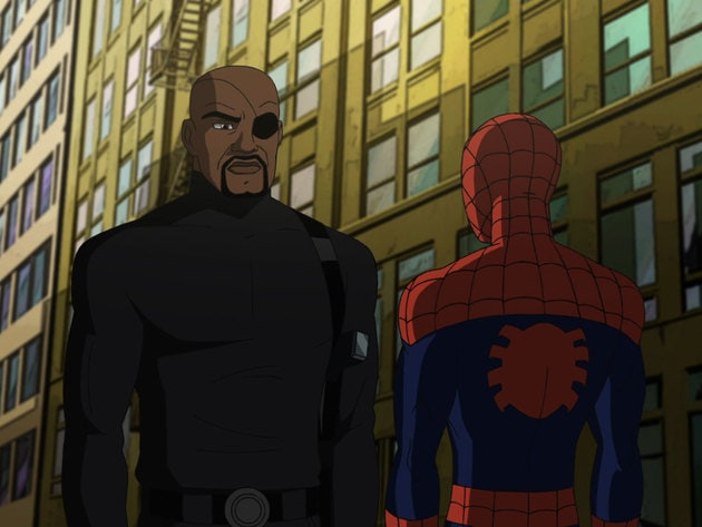 Nick Fury has an assignment for Spider-Man