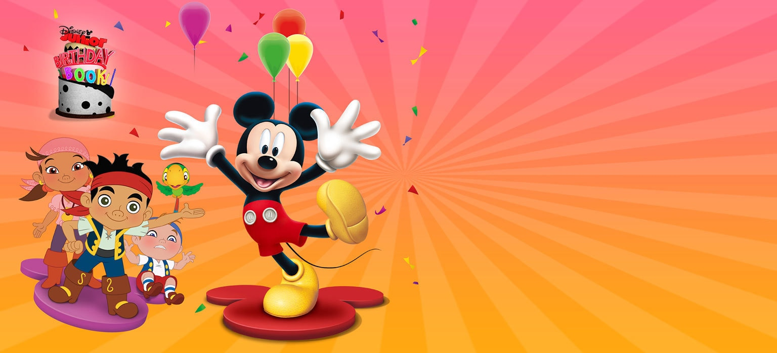 Birthday Book Disney Junior Philippines