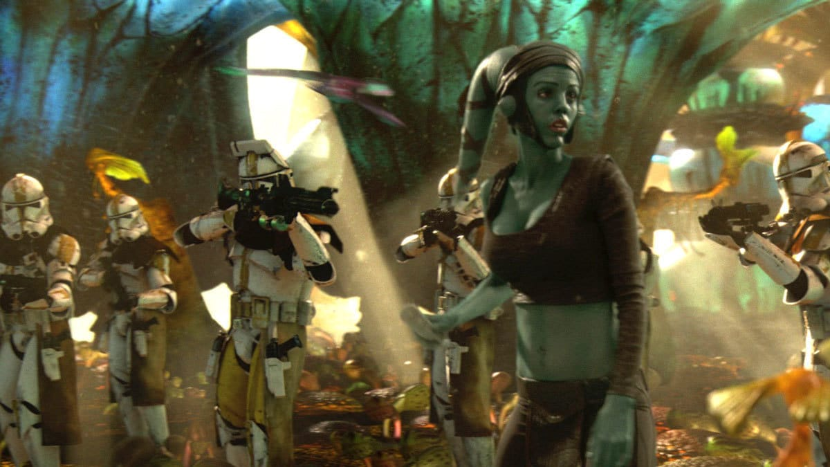 The 327th Star Corps preparing to betray Aayla Secura