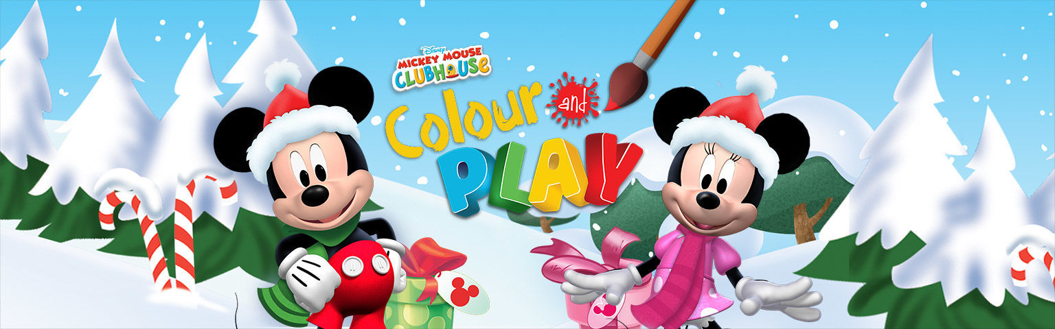 Mickey Mouse Clubhouse Colour And Play