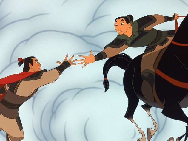 Mulan knows the importance of fighting for those you love.