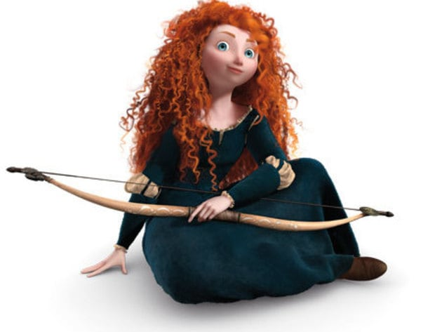 Princess Merida, the main protagonist of Disney/Pixar's Brave, is a feisty, athletic, independent...