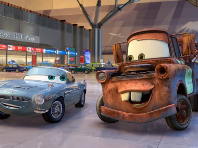 """Finn McMissile, British Intelligence.""