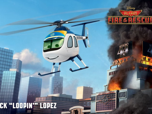 """By 1978, Nick """"Loopin' """" Lopez (voice of Erik Estrada) was America's favorite helicopter cop, fea..."""