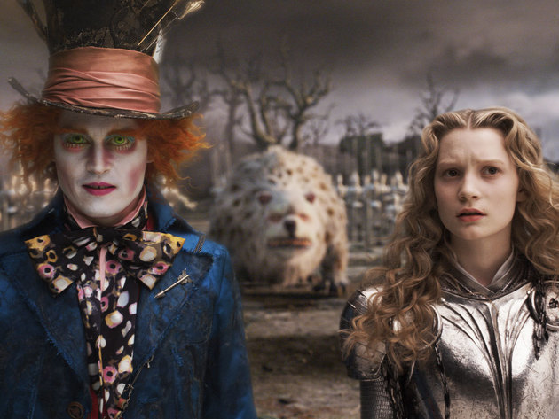 Alice and the Mad Hatter are a formidable team.