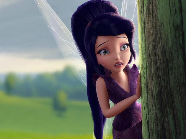 This Fast-flying Fairy worries where Tink's journey will take her.