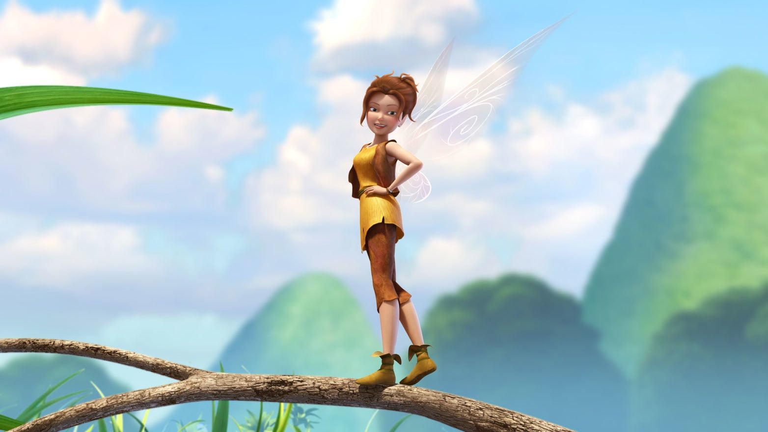 Zarina the ambitious dust-keeper fairy.