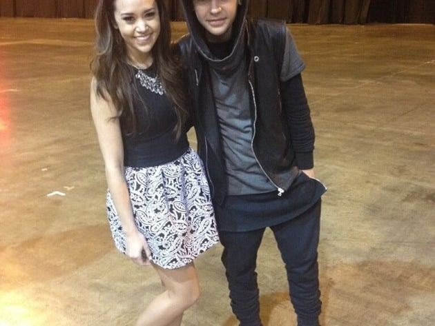 Megan Nicole and Alex Angelo