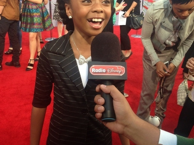 Skai Jackson at Muppets Most Wanted