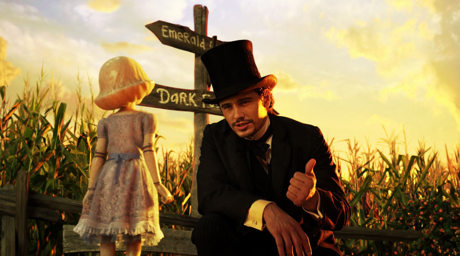 """James Franco and Joey King in """"Oz the Great and Powerful"""""""