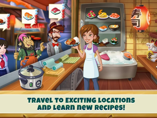 Travel to exciting locations and learn new recipes!