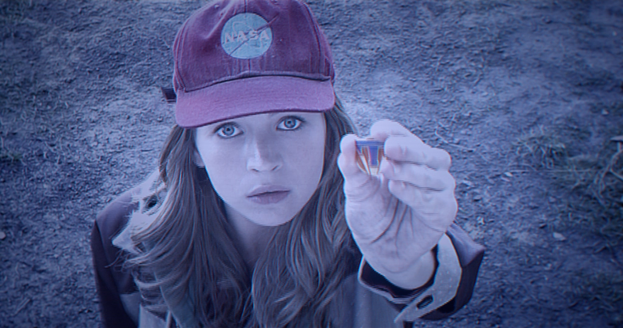 "Casey Newton (Britt Robertson) in the movie ""Tomorrowland"""