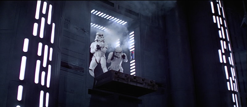 Stormtroopers aboard the Death Star