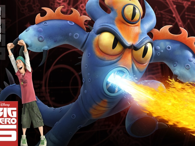 """Fred (voiced by T.J. Miller) in the movie """"Big Hero 6"""""""
