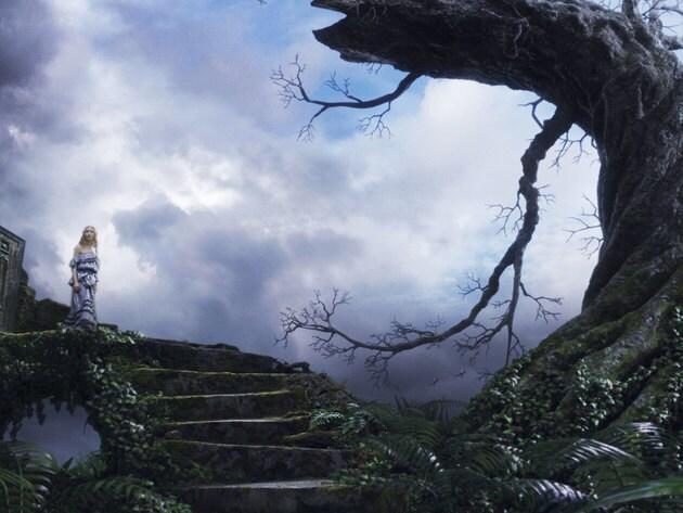 Alice finds a forbidding landscape upon her return.