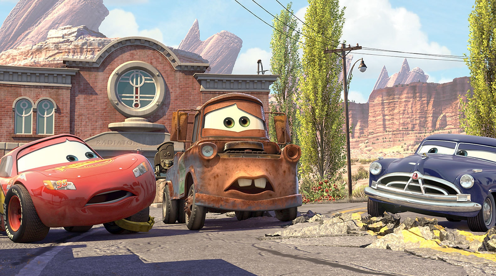 """My name's Mater. Like tah-mater, but without the tah."""