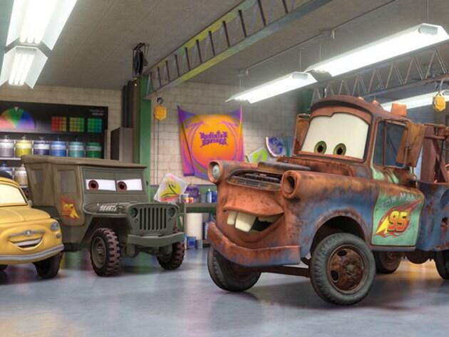 mater gallery disney cars