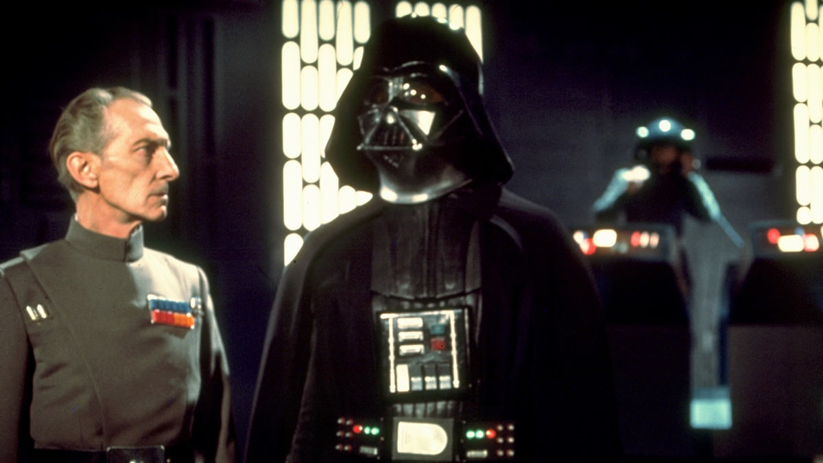 Darth Vader and Grand Moff Tarkin
