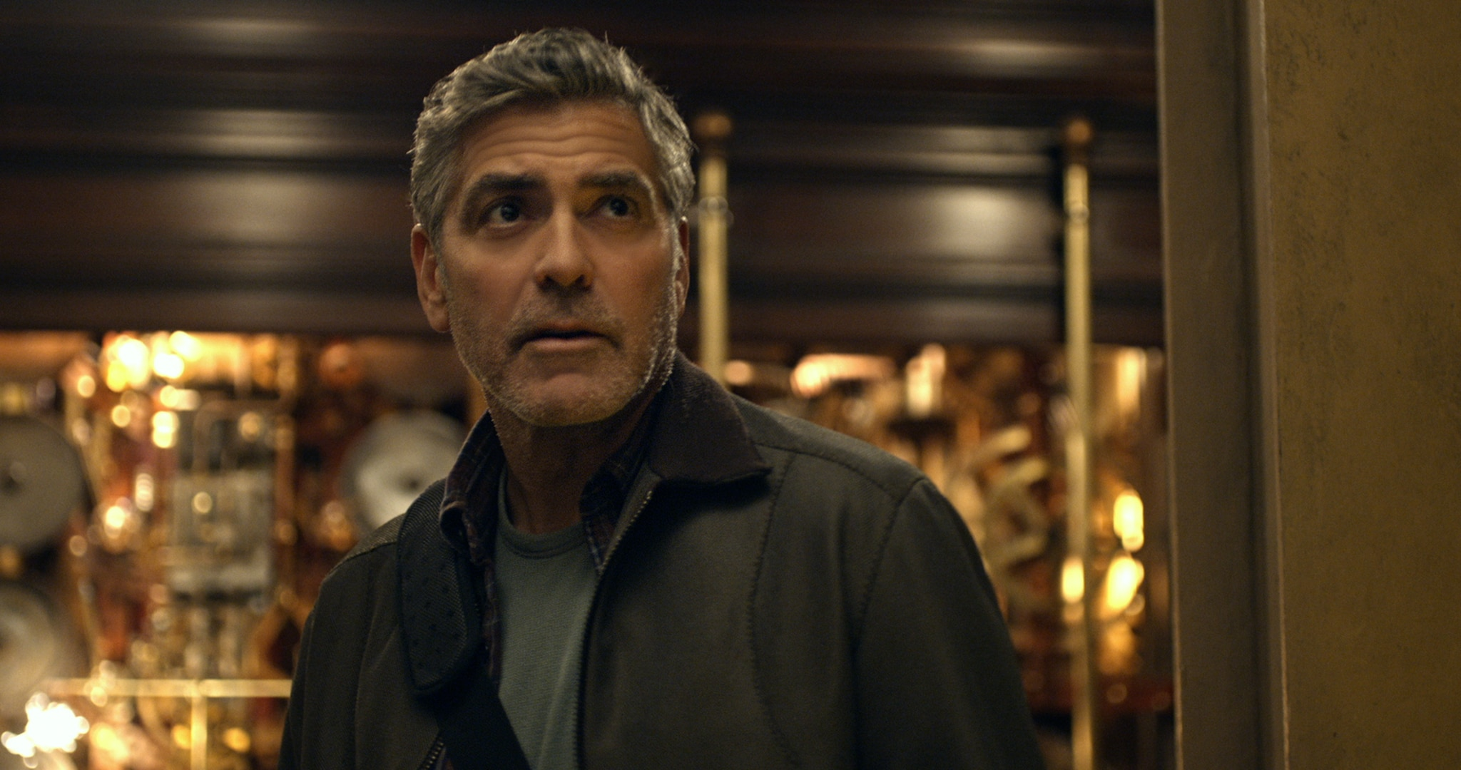 """Actor George Clooney in the movie """"Tomorrowland"""""""