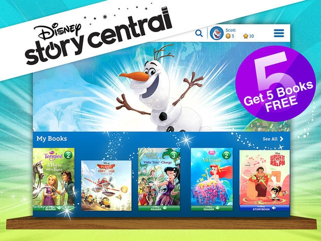 The largest collection of Disney titles in one app! With new adventures added every week!
