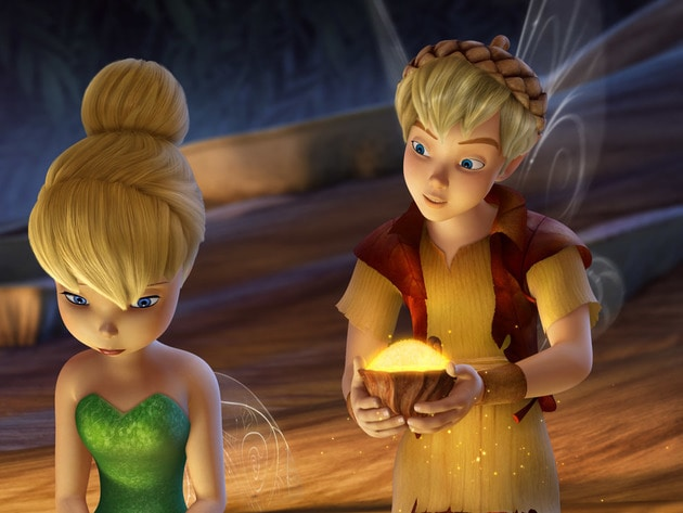 This Dust Fairy sees Tink's potential and encourages her to fly after what she loves.